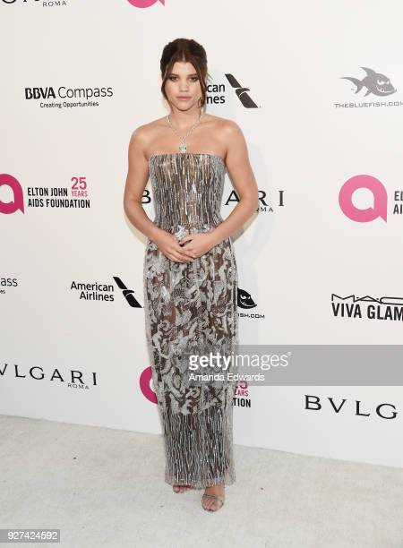 Model Sofia Richie arrives at the 26th Annual Elton John AIDS Foundation's Academy Awards Viewing Party on March 4 2018 in West Hollywood California