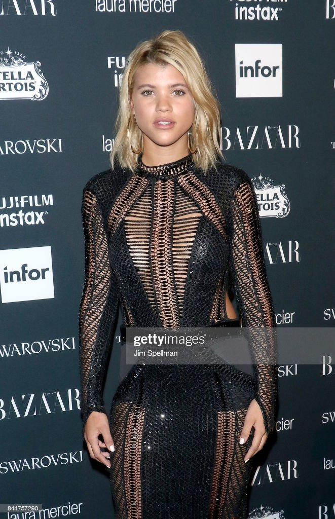 Model Sofia Richie attends the 2017 Harper's Bazaar Icons at The Plaza Hotel on September 8, 2017 in New York City.
