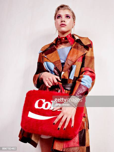 Model Sofia Richie is photographed for Ladygunn on April 8 2016 in Los Angeles California