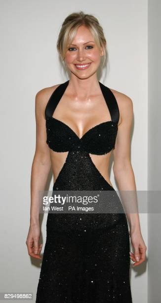 Model Sonya Walker arrives