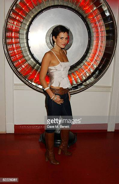 Model Sophie Anderton attends the Chain Of Hope auction and party in aid of heart surgeon Professor Sir Magdi Yacoub's charity at Sketch on February...