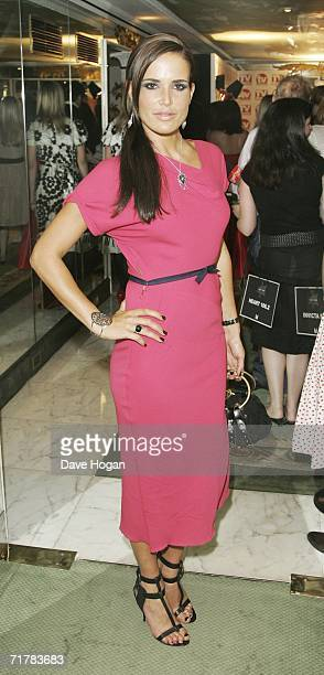 Model Sophie Anderton attends the TV Quick and TV Choice Awards at the Dorchester Hotel Park Lane on September 4 2006 in London England The annual...