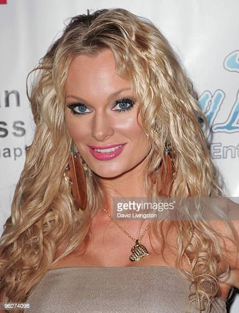 Model Sophie Turner attends Stephanie Pratt Jordan Johnson's PreGRAMMY Party at hwood on January 29 2010 in Hollywood California