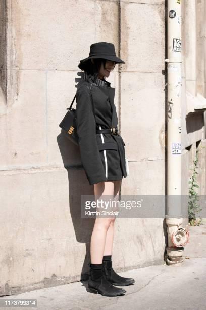 Model Sora Choi on July 03 2019 in Paris France