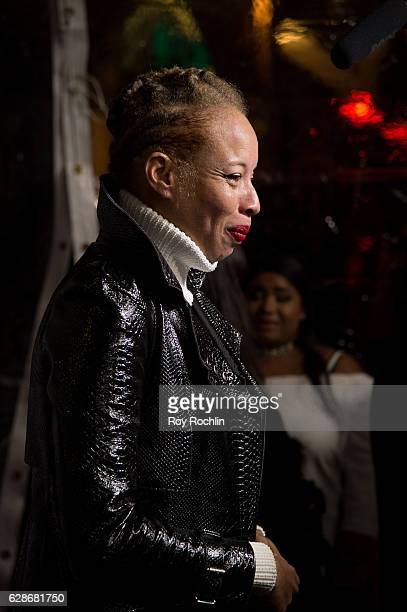 Model Stacy Ann Mackenzie attends VH1's 'America's Next Top Model' Premiere at Vandal on December 8 2016 in New York City