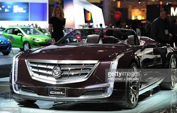 Cadillac Ciel Concept Stock Photos And Pictures Getty Images