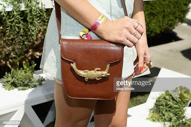 Model Stassi Schroeder attends POPSUGAR + SHOPSTYLE'S Cabana Club Pool Parties - Day 1 at the Avalon Hotel on April 11, 2015 in Palm Springs,...