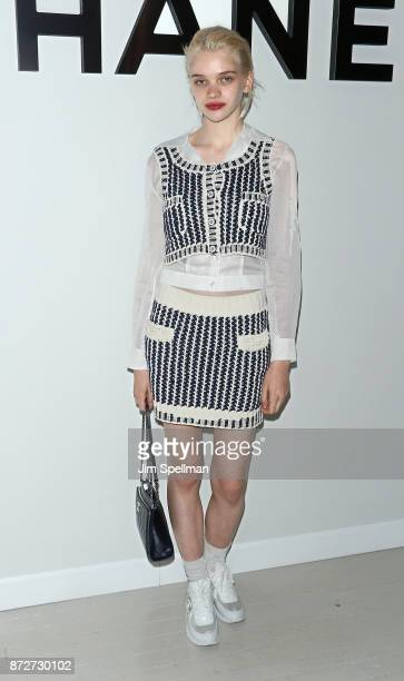 Model Stella Lucia attends the launch of The Coco Club celebrated by CHANEL at The Wing Soho on November 10 2017 in New York City