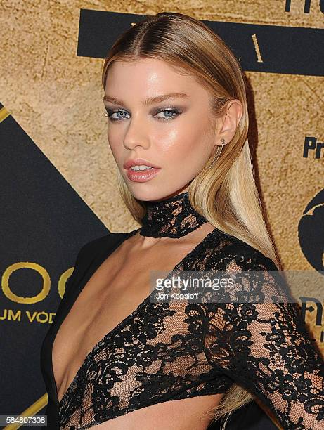 Model Stella Maxwell arrives at the Maxim Hot 100 Party at the Hollywood Palladium on July 30 2016 in Los Angeles California