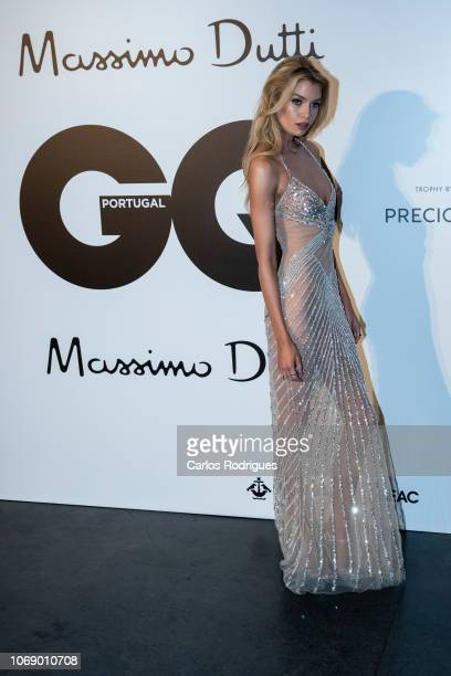 Model Stella Maxwell attends GQ Men of the Year Awards 2018 at Teatro Sao Jorge on November 17 2018 in Lisbon Portugal