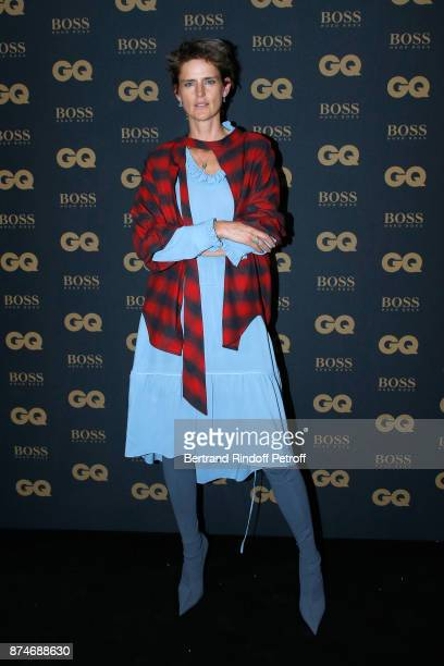 Model Stella Tennant attends the GQ Men of the Year Awards 2017 at Le Trianon on November 15 2017 in Paris France