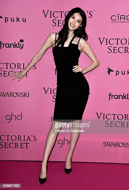 Model Sui He attends the after party for the annual Victoria's Secret fashion show at Earls Court on December 2 2014 in London England