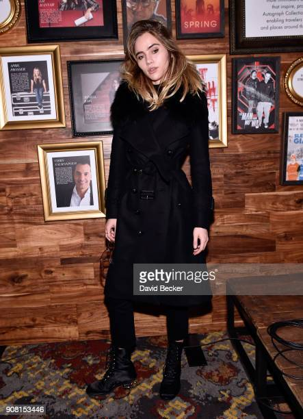 Model Suki Waterhouse attends cocktails hosted by Autograph Collection Hotels to Celebrate Maggie Gyllenhaal as Independent Film Advisor for the...