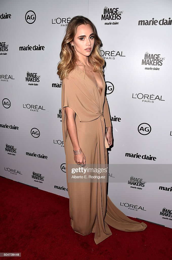 Model Suki Waterhouse attends the inaugural Image Maker Awards hosted by Marie Claire at Chateau Marmont on January 12, 2016 in Los Angeles, California.