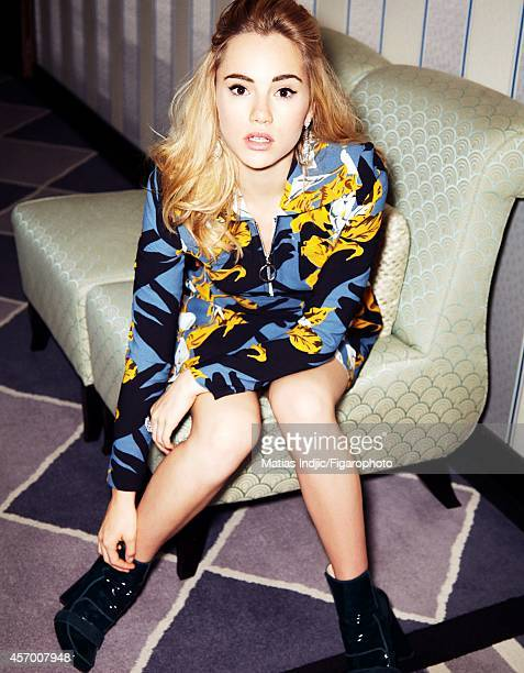 Model Suki Waterhouse is photographed for Madame Figaro on May 27 2014 in Cannes France Dress PUBLISHED IMAGE CREDIT MUST READ Matias...