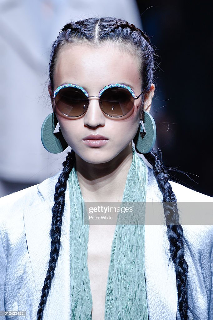 af2daf25b78 Emporio Armani   Runway At Studio Marcel Cerdan - Paris Fashion Week  Womenswear Spring Summer