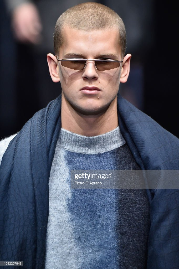 fa6a0837087 Emporio Armani - Runway - Milan Men s Fashion Week Autumn Winter 2019 20