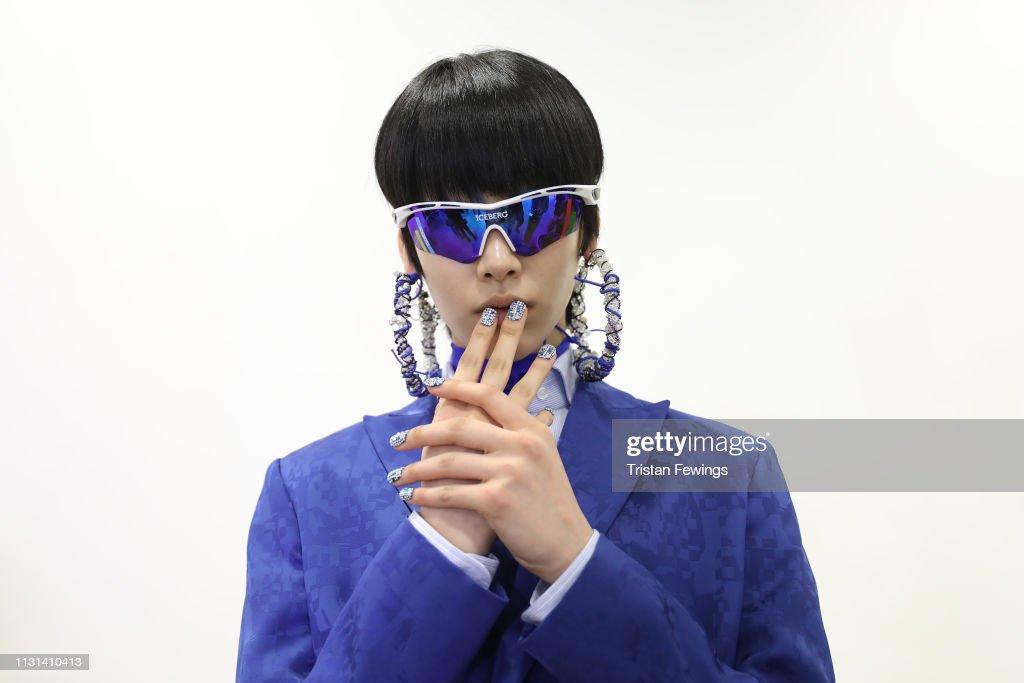 ITA: Iceberg - Backstage: Milan Fashion Week Autumn/Winter 2019/20