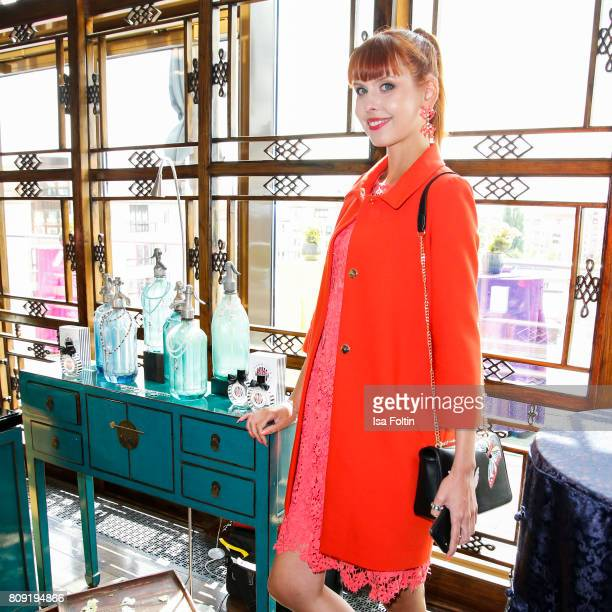 Model Sussan Zeck attends the Thomas Sabo Press Cocktail during the MercedesBenz Fashion Week Berlin Spring/Summer 2017 at China Club on July 5 2017...