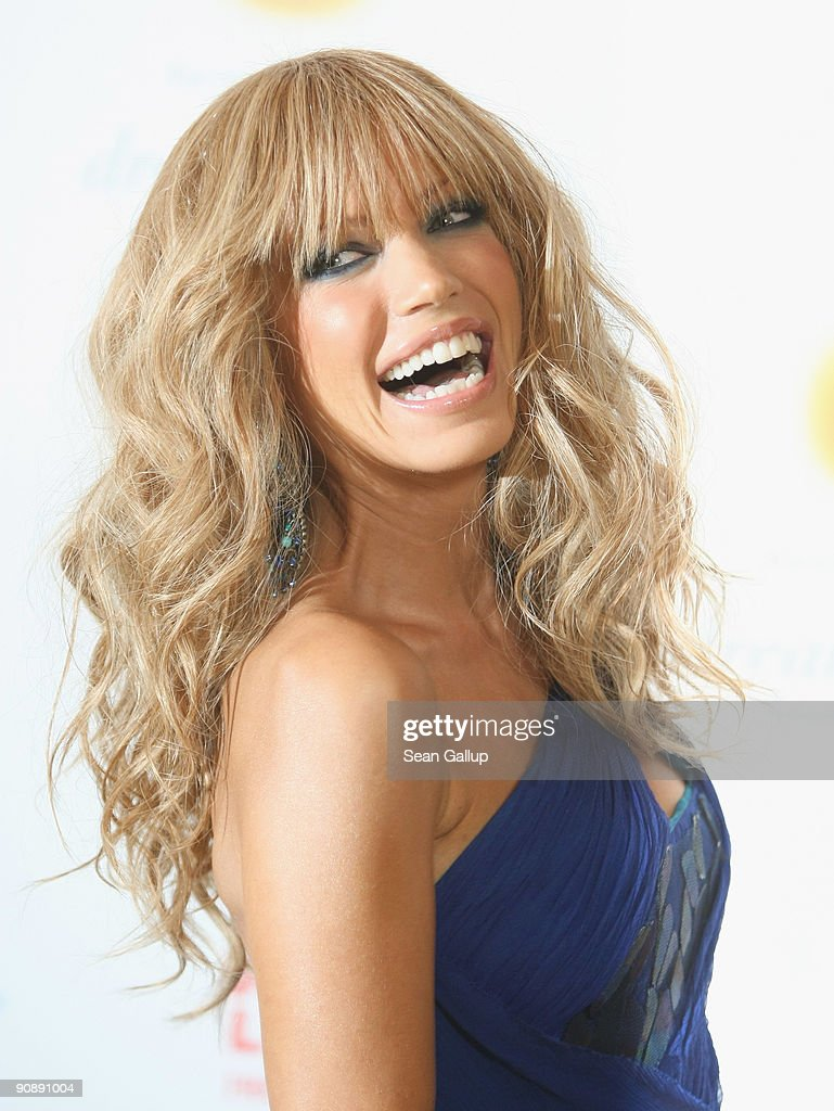 Model Sylvie van der Vaart attends the dreamball 2009 charity gala at the Ritz-Carlton on September 17, 2009 in Berlin, Germany.