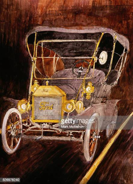 what does the t mean in model t ford