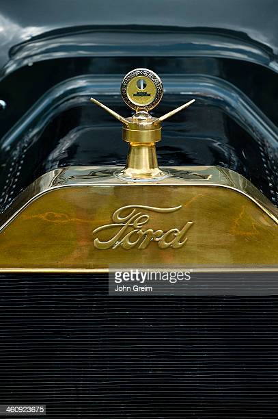 Model T Ford grill detail