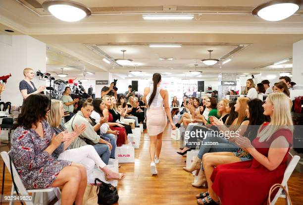 A model takes part in Cosmo Curve casting on March 17 2018 in Sydney Australia