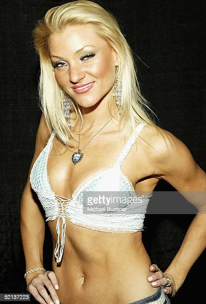 Model Tamara Witmer attends Anna Benson's birthday bash and Lingerie Bowl Party at Shelter on February 4 2005 in Los Angeles California