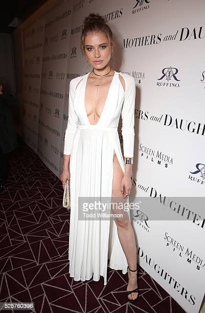 Model Tanya Mityushina attends the Los Angeles Premiere of Screen Media Film's 'Mothers And Daughters' at The London on April 28 2016 in West...