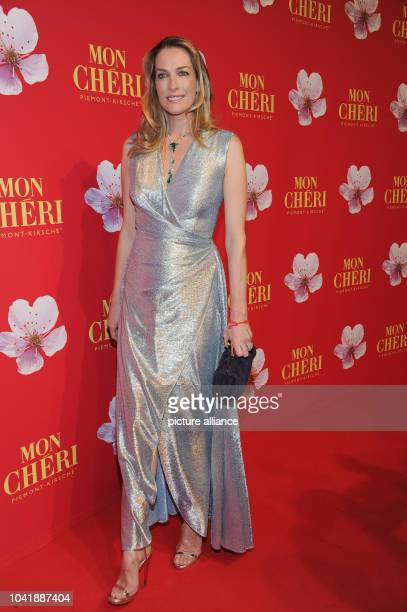 Model Tatjana Patitz attends the Barbara Day celebrations hosted by chocolate manufacturer Mon Cheri in Munich Germany 4 December 2015 The charity...