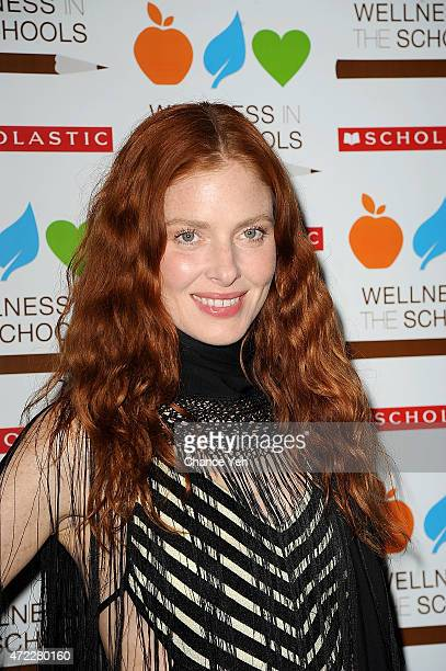 Model Taylor Foster attends Wellness In The Schools 10th Anniversary Gala at Riverpark on May 5, 2015 in New York City.