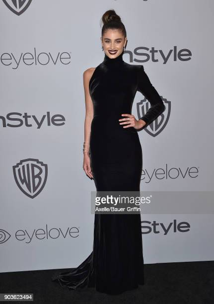 Model Taylor Hill attends the 19th Annual PostGolden Globes Party hosted by Warner Bros Pictures and InStyle at The Beverly Hilton Hotel on January 7...