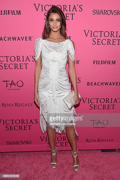 Model Taylor Hill attends the 2015 Victoria's Secret Fashion After Party at TAO Downtown on November 10 2015 in New York City