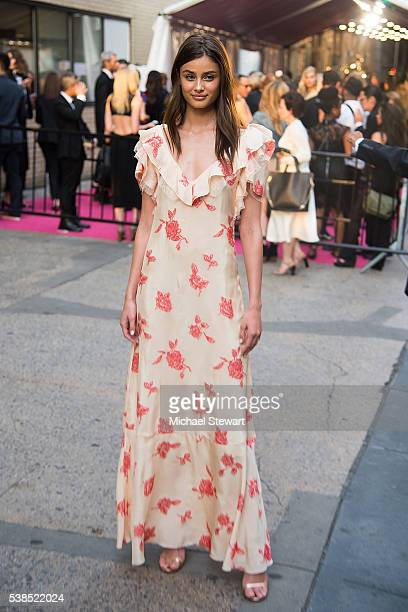 Model Taylor Hill attends the 2016 CFDA Fashion Awards at the Hammerstein Ballroom on June 6 2016 in New York City
