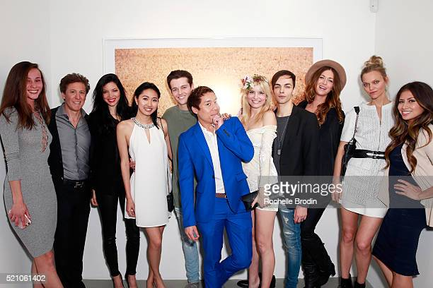 Model Tenille Briney author Paul Weinberg model Shay Mondre guests celebrity aesthetician John Tew actors Eugenia Kuzmina and Ilia Yordanov Courtney...
