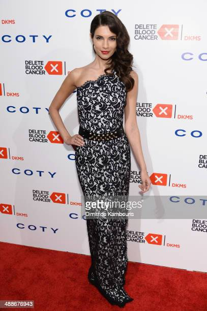 Model Teresa Moore attends the 2014 Delete Blood Cancer Gala Honoring Evan Sohn and the Sohn Conference Foundation at Cipriani Wall Street on May 7...