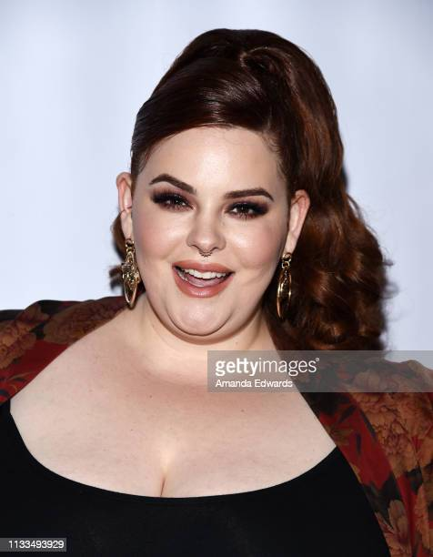 Model Tess Holliday attends The Animal Hope & Wellness Foundation's 2nd Annual Compassion Gala at Playa Studios on March 03, 2019 in Culver City,...
