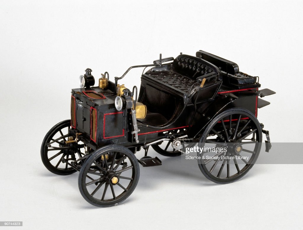 Panhard-Levassor motor car, 1894. Pictures | Getty Images