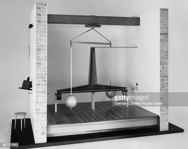 Model The original of this laboratory and gravity balance was made in 1798 A torsion balance is an instrument for measuring weak forces of attraction...