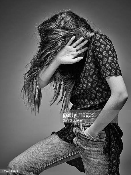 Model Thylane Blondeau is photographed for a fashion editorial for Flaunt Magazine on February 16, 2016 in El Segundo, California.