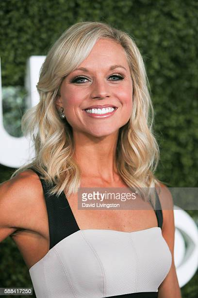 Model Tiffany Coyne arrives at the CBS CW Showtime Summer TCA Party at the Pacific Design Center on August 10 2016 in West Hollywood California