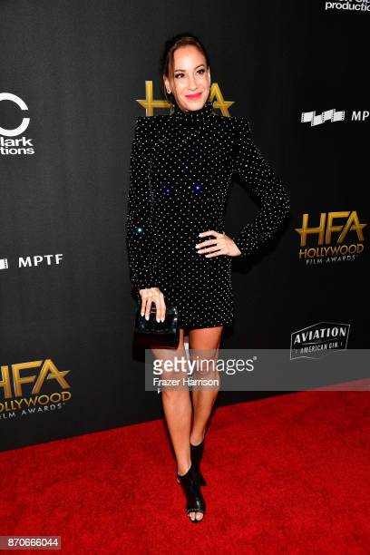 Model Timea Vajna attends the 21st Annual Hollywood Film Awards at The Beverly Hilton Hotel on November 5 2017 in Beverly Hills California