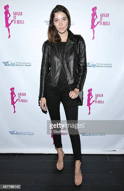 Model Tina Marie Clark attends the Kicked It In Heels 3rd Annual Fundraiser at TAO Downtown on October 23 2014 in New York City