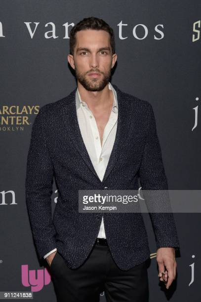 Model Tobias Sorensen attends the JVxNJ Launch Event at the Angel Orensanz Foundation on January 27 2018 in New York City
