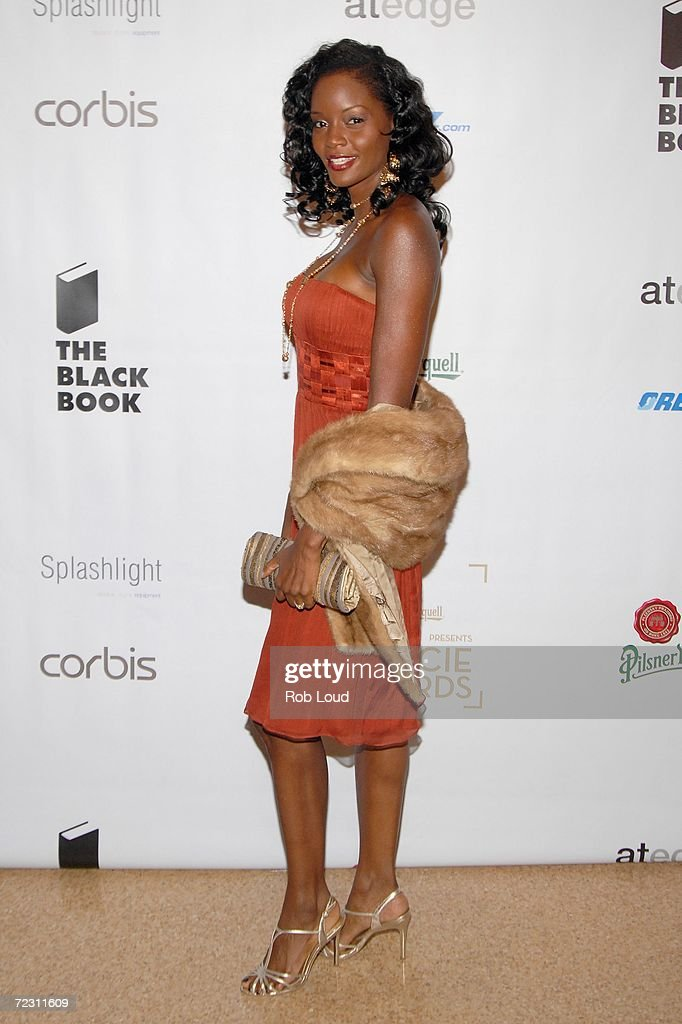 Model Tomiko Fraser arrives for photography's 4th Annual Lucie Awards at the American Airlines Theatre October 30, 2006 in New York City.