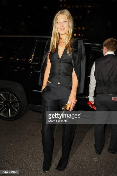 Model Toni Garn is seen on September 8 2017 in New York City
