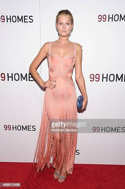 Model Toni Garrn attends '99 Homes' New York Screening at AMC Loews Lincoln Square on September 17 2015 in New York City