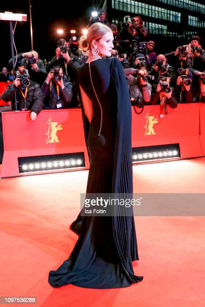 Model Toni Garrn attends the opening ceremony and The Kindness Of Strangers premiere during the 69th Berlinale International Film Festival Berlin at...