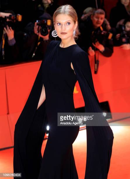 Model Toni Garrn attends the 'The Kindness Of Strangers' premiere during the 69th Berlinale International Film Festival Berlin on February 07 2019 in...