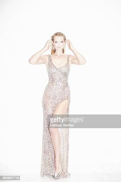 Model Toni Garrn is photographed for Gala Croisette on May 2018 in Cannes France